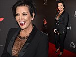 BEVERLY HILLS, CA - DECEMBER 11:  TV personality Kris Jenner attends The Inaugural Diamond Ball presented by Rihanna and The Clara Lionel Foundation at The Vineyard on December 11, 2014 in Beverly Hills, California.  (Photo by Kevin Mazur/Getty Images for The Clara Lionel Foundation)