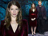 Friday 12 December 2014\nInto The Woods Photocall  held at The Courtroom, The Corinthia Hotel, Whitehall Place, London.\n\nHere: Anna Kendrick-James Corden \n\nCredit: Justin Goff/goffphotos.com