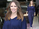 Mandatory Credit: Photo by REX (4300914l)  Kimberley Walsh  Celebrities at the ITV studios, London, Britain - 12 Dec 2014