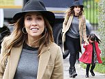 12.DECEMBER.2014 - LONDON - UK ***EXCLUSIVE ALL ROUND PICTURES*** ENGLISH SINGER AND TV PRESENTER MYLEENE KLASS SEEN OUT ON MUMMY DUTIES AS SHE IS SEEN WITH HER YOUNGER DAUGHTER HERO IN NORTH LONODN, UK. BYLINE MUST READ : XPOSUREPHOTOS.COM ***UK CLIENTS - PICTURES CONTAINING CHILDREN PLEASE PIXELATE FACE PRIOR TO PUBLICATION *** **UK CLIENTS MUST CALL PRIOR TO TV OR ONLINE USAGE PLEASE TELEPHONE 0208 344 2007**