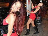 Picture Shows: Chloe November  December 12, 2014    New 'Geordie Shore' cast member Chloe November is seen hitting the town in Newcastle, England.    The reality television star looked slightly worse for wear as she was photographed leaving different clubs - including Bijoux, House of Smith and Perdu - and decided to gyrate a pole at a bus stop. She was accompanied by a group of friends and a male believed to be her boyfriend during her night out.    Exclusive - All Round  WORLDWIDE RIGHTS    Pictures by : FameFlynet UK    2014  Tel : +44 (0)20 3551 5049  Email : info@fameflynet.uk.com
