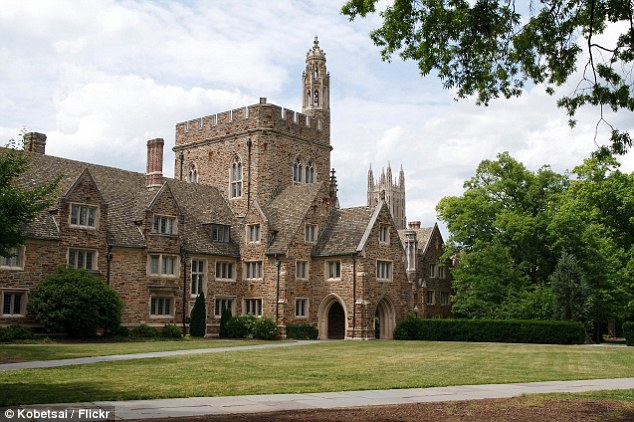 Higher learning: Duke students took to the internet to criticize Lauren's career choices and speculate who might have had sex with her