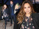 Geri Halliwell's guest's arrive at her north London home for a Christmas party. Both Myleene Klass and Mel C brought there New mystery men holding the flowers.  \n\nPictured: Mel C Myleene Klass\nRef: SPL911069  141214  \nPicture by: Greg Sirc / Splash News\n\nSplash News and Pictures\nLos Angeles: 310-821-2666\nNew York: 212-619-2666\nLondon: 870-934-2666\nphotodesk@splashnews.com\n