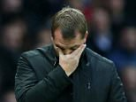 MANCHESTER, ENGLAND - DECEMBER 14:  Liverpool Manager Brendan Rodgers reacts during the Barclays Premier League match between Manchester United and Liverpool at Old Trafford on December 14, 2014 in Manchester, England.  (Photo by Alex Livesey/Getty Images)