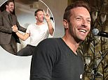 """Mandatory Credit: Photo by Action Press/REX (4301489e)  Chris Martin  'Unbroken' film brunch, Los Angeles, America - 14 Dec 2014  Chris Martin performs as Universal Studios present an """"Unbroken"""" brunch at Fig and Olive in West Hollywood, California"""