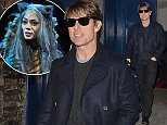 Actor Tom Cruise leaving Cats at London Palladium. UK. 13/122014 BYLINE MUST READ : GOTCHAIMAGES.COM Copyright by    Gotcha Images Ltd. All rights reserved. Usage of this image is conditional upon the acceptance  of Gotcha Images Ltd, terms and conditions available at www.gotchaimages.com
