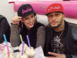 "Kelly Brook and David McIntosh went for a burger and milkshake at ""Archie's"" in All Saints, Manchester on Sunday evening. 14.12.14........Tweeted by Archie's."