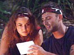 EDITORIAL USE ONLY - NO MERCHANDISING.. Mandatory Credit: Photo by ITV/REX (4267274ha).. Nadia Forde and Jake Quickenden - Care Packages...Celebs open 'Care Packages' from their loved ones.. 'I'm A Celebrity...Get Me Out Of Here!' TV Programme, Australia - 23 Nov 2014.. ..