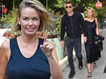 Mandatory Credit: Photo by Buzz Foto/REX (4108125f)\nSam Worthington, Lara Bingle\nSam Worthington and Lara Bingle out and about, New York, America - 20 Sep 2014\n\n