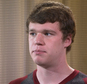 In this image taken from video, Saturday, Dec. 13, 2014, University of Virginia student Ryan Duffin talks during an interview with The Associated Press in Charlottsville, Va. Duffin and two other friends of an alleged victim of a gang rape at a U.Va. fraternity, challenged details in a Rolling Stone article that used the woman's attack to paint a picture of a culture of sexual violence on the campus was wrong on a number of key points: most important that they didn't encourage her to report the attack and that they were more concerned about their reputations than her well-being. (AP Photo)