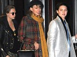 EXCLUSIVE: Taylor Swift, Kendall Jenner and Cara Delevingne seen leaving Gigi Hadid's house. They stopped by to decorate Gigi Hadid's home in NYC.  Pictured: Taylor Swift, Kendall Jenner and Cara Delevingne  Ref: SPL909921  101214   EXCLUSIVE Picture by: @JDH Imagez /Splash News  Splash News and Pictures Los Angeles: 310-821-2666 New York: 212-619-2666 London: 870-934-2666 photodesk@splashnews.com