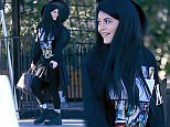 EXCLUSIVE: Kylie Jenner seen wearing Last Kings clothing while out to lunch with a friend.\n\nPictured: Kylie Jenner\nRef: SPL908308  131214   EXCLUSIVE\nPicture by: VIPix / Splash News\n\nSplash News and Pictures\nLos Angeles: 310-821-2666\nNew York: 212-619-2666\nLondon: 870-934-2666\nphotodesk@splashnews.com\n