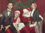 ashleygreeneMe and @paulkhoury getting festive @brooksbrothers @stjude #brooksholiday
