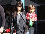 Picture Shows: Selma Blair  December 13, 2014    Former 'Anger Management' actress Selma Blair takes her son Arthur out grocery shopping with a friend at Whole Foods in West Hollywood, California on December 13, 2014. Arthur couldn't wait to get home to eat his snack. He started munching on them right after they left the store.     Non-Exclusive  UK RIGHTS ONLY    Pictures by : FameFlynet UK © 2014  Tel : +44 (0)20 3551 5049  Email : info@fameflynet.uk.com