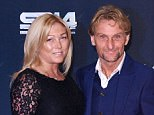 Carl 'Foggy' Fogarty and his wife Michaela attend the BBC Sports Personality of the Year awards in Glasgow