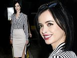 "Krysten Ritter spotted out and about in New York City promoting her new film ""Big Eyes"".\n\nPictured: Krysten Ritter\nRef: SPL911642  151214  \nPicture by: Splash News\n\nSplash News and Pictures\nLos Angeles: 310-821-2666\nNew York: 212-619-2666\nLondon: 870-934-2666\nphotodesk@splashnews.com\n"