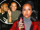 Chris Brown's ex Karrueche Tran striking in Hollywood in red single and happy dec 14, 2014 X17online.com\\nOK FOR WEB SITE USAGE.\\nAny quieries please call Alasdair or Gary on office 0034 966 713 949/926 or mibile Gary 0034 686 421 720 or Alasdair on 0034 630 576 519