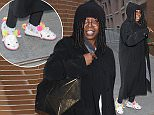 """December 16, 2014:  Whoopi Goldberg is seen making an appearance at """"The View"""" today in New York City. Mandatory Credit: RogerWong/INFphoto.com Ref.: infusny-146"""