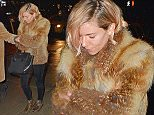 Mandatory Credit: Photo by Buzz Foto/REX (4307979a)  Sienna Miller  Sienna Miller out and about, New York, America - 16 Dec 2014