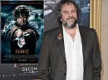 """Writer/director/producer Peter Jackson arrives at the Los Angeles premiere of """"The Hobbit: The Battle Of The Five Armies"""" at the Dolby Theatre on Tuesday, Dec. 9, 2014. (Photo by Richard Shotwell/Invision/AP)"""