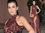 16 December 2014.\nKensington Christmas Party at Bombay Brasserie, South Kensington, London. Pictured here :  Imogen Thomas\nCredit: Andy Oliver/GoffPhotos.com   Ref: KGC-143\n
