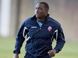 Bolton Wanderers FC @OfficialBWFC      8m 8 minutes ago PHOTO: Emile Heskey in training at Euxton this morning. #BWFC