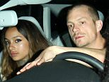 126006, EXCLUSIVE: Joel Kinnaman seen leaving Chateau Marmont with his new girlfriend, model Cleo Wattenström after breaking up with Olivia Munn. Hollywood, California - Thursday September 11, 2014. Photograph: © MHD, PacificCoastNews. Los Angeles Office: +1 310.822.0419 London Office: +44 208.090.4079 sales@pacificcoastnews.com FEE MUST BE AGREED PRIOR TO USAGE