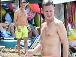 Jeremy Kyle is spotted on the beach in Barbados\n\nRef: SPL913006  161214  \nPicture by: Islandpaps / Splash News\n\nSplash News and Pictures\nLos Angeles: 310-821-2666\nNew York: 212-619-2666\nLondon: 870-934-2666\nphotodesk@splashnews.com\n