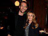 LONDON, ENGLAND - DECEMBER 15: Footballer Peter Crouch and his wife model Abbey Clancy attend the LOVE x Balmain Xmas Party at The Ivy Market Grill on December 15, 2014 in London, England.  (Photo by David M. Benett/Getty Images for LOVE x Balmain)
