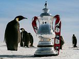 The famous trophy visits the southernmost point on Earth in an epic voyage as The FA celebrates the adventure of The FA Cup