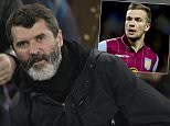 Roy Keane, assistant manager of the Republic of Ireland national football team, takes his seat before the English Premier League soccer match between Everton and Queens Park Rangers at Goodison Park Stadium, Liverpool, England, Monday Dec. 15, 2014. (AP Photo/Jon Super)