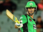 ADELAIDE, AUSTRALIA - DECEMBER 18: Kevin Pietersen of the Melbourne Stars reacts after scoring his half century during the Big Bash League match between the Adelaide Strikers and Melbourne Stars at Adelaide Oval on December 18, 2014 in Adelaide, Australia.  (Photo by Daniel Kalisz - CA/Cricket Australia/Getty Images)