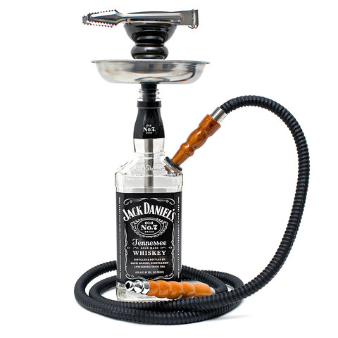 Jack Daniels Liquor Bottle Hookah