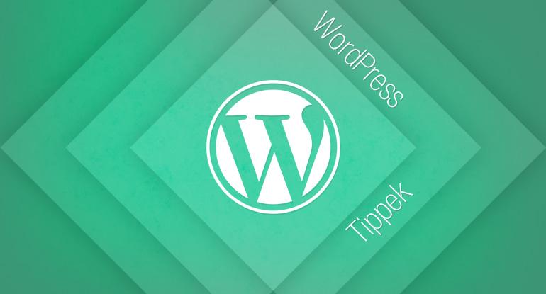 WordPress Tippek