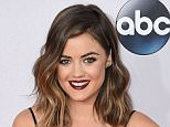 Mandatory Credit: Photo by Rob Latour/REX (4267345dk).. Lucy Hale.. American Music Awards, Arrivals, Los Angeles, America - 23 Nov 2014.. WEARING VERA WANG..