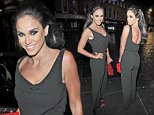 VICKY PATTISON ENJOYS A CHRISTMAS NIGHT OUT WITH FRIENDS AT FAT BUDDA NEWCASTLE \\n***LUMINOUS PHOTOS***\\n\\n***EXC ALL ROUND***
