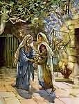 Free Christ Images: Mary Visits Elisabeth