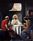 Free Christ Images: Supper at Emmaus