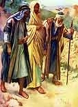 Free Christ Images: Jesus on Road to Emmaus