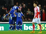 SPT_GCK_221214_Football, Barclays Premier League, Stoke City v Chelsea. Picture Graham Chadwick. john Terry goal 1-0