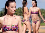 "Picture Shows: Olivia Wilde  December 18, 2014\n \n **Min Web / Online Fee £500 For Set **\n \n ""Meadowland"" actress Olivia Wilde and her fiance Jason Sudeikis enjoy a day on the beach in Maui, Hawaii. New mom Olivia showed off her bikini body while taking a dip in the ocean with Jason. \n \n **Min Web / Online Fee £500 For Set **\n \n Exclusive All Rounder\n UK RIGHTS ONLY\n \n Pictures by : FameFlynet UK © 2014\n Tel : +44 (0)20 3551 5049\n Email : info@fameflynet.uk.com"