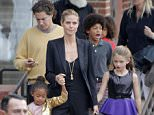 ©2014 RAMEY PHOTO 310-828-3445 December 21st, 2014 - Los Angeles Heidi Klum takes her kids and her boyfriend to NUTCRACKER in Los Angeles. KISS
