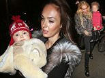 PICTURE BYLINE --- David Fitzgerald / optimusimages.co.uk PICTURES SHOW --- Tamara Ecclestone and her sister Petra Stunt seen at Benihana restaurant in chelsea London. Both sisters looked a bit tired and flustered as they carried there young children Petra with Lavinia and Tamara with Sophia. DATE --- 20-12-2014 ****NOTICE, NO WEB OR TV USAGE WITHOUT PRIOR AGREEING A FEE**** ****Please Email - pictures@optimusimages.co.uk or visit -  www.optimusimages.co.uk****