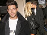 21.DECEMBER.2014 - LONDON - UK DJ/PRODUCER AND MADE IN CHELSEA STAR ALEX MYTTON SPOTTED HOLDING HANDS WITH NEW BLONDE GIRLFRIEND NICOLA HUGHES AT ICE BAR PICCADILLY LONDON AHEAD OF ALEX NEW SINGLE RELEASE ELECTRIC THIS WEEK  BYLINE MUST READ : XPOSUREPHOTOS.COM ***UK CLIENTS - PICTURES CONTAINING CHILDREN PLEASE PIXELATE FACE PRIOR TO PUBLICATION *** **UK CLIENTS MUST CALL PRIOR TO TV OR ONLINE USAGE PLEASE TELEPHONE 0208 344 2007**