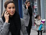 EXCLUSIVE ALL ROUND S Club7 singer Rachel Stevens spotted in Nth London looking very stylish after returning from Ireland . BYLINE : ISOIMAGES must be used