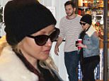 """Picture Shows: Matthew Rutler, Christina Aguilera  December 22, 2014\n \n ** MIN WEB / ONLINE FEE £400 FOR SET **\n \n Singer Christina Aguilera and her fiance Matthew Rutler do some last minute Christmas shopping at the Beverly Glen Market in Los Angeles, California. Christina will be a busy girl next year, releasing a new album, returning to """"The Voice"""" and producing an ABC Family dreamed """"Hearts and Clubs.""""\n \n ** MIN WEB / ONLINE FEE £400 FOR SET **\n \n Exclusive ALL ROUNDER\n UK RIGHTS ONLY\n Pictures by : FameFlynet UK © 2014\n Tel : +44 (0)20 3551 5049\n Email : info@fameflynet.uk.com"""