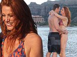 actress/model Angie Everhart as she recently honeymooned with her new husband, Carl Ferro (co-founder of meal delivery service Sunfare), at Villa del Palmar at the Islands of Loreto in Loreto, Mexico.  The couple married earlier this month.\n\nThe couple enjoyed their time at the resort with walks along the private bay surrounding the resort, paddle boarding, couples' massages at Sabila Spa and intimate dinners at Danzante restaurant. \n\nI would appreciate if the Daily Mail online would consider posting a photo/item from Villa del Palmar at the Islands of Loreto.\n\nPhotos by Mauricio Ameneyro. \n