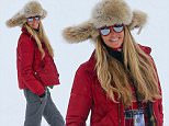Aspen, CO - Elle Macpherson shares her famous smile with our photographers on top of Ajax Mountain as she takes a break after hitting the slopes...AKM-GSI           December 22, 2014..To License These Photos, Please Contact :.. .. Steve Ginsburg.. (310) 505-8447.. (323) 423-9397.. steve@akmgsi.com.. sales@akmgsi.com.. .. or.. .. Maria Buda.. (917) 242-1505.. mbuda@akmgsi.com.. ginsburgspalyinc@gmail.com