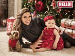 """THIS PICTURE CANNOT BE USED ON PAGE ONE OF ANY PUBLICATION WITHOUT EXPRESS PERMISSION FROM HELLO! MAGAZINE. THIS PICTURE MUST ONLY BE USED IN CONJUNCTION WITH THE FRONT COVER OF THIS WEEKS HELLO! MAGAZINE. NO SALES NO ARCHIVE. EDITORIAL USE ONLY.  Undated Hello! Magazine handout photo of former Girls Aloud star Nadine Coyle at home in Los Angeles, USA, with her daughter Anaiya, who appear in this week's edition of Hello! Magazine. PRESS ASSOCIATION Photo. Issue date: Monday December 22, 2014. Coyle said her next solo album is influenced by her new life as a mother and will show off her """"vulnerable"""" side. See PA story SHOWBIZ Coyle. Photo credit should read: Hello! Magazine/PA Wire NOTE TO EDITORS: This handout photo may only be used in for editorial reporting purposes for the contemporaneous illustration of events, things or the people in the image or facts mentioned in the caption. Reuse of the picture may require further permission from the copyright holder."""
