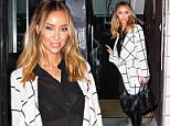 Mandatory Credit: Photo by Picturematt/REX (4325413c)  Lauren Pope  Lauren Pope leaving a fashion shoot, Manchester, Britain - 22 Dec 2014  TV Personality  Lauren Pope pictured leaving a Manchester studio after shooting her Spring / Summer clothing range with 'In The Style.com'